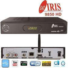 Nuevo Decodificador Satelite Iris 9850 HD en Satelicenter